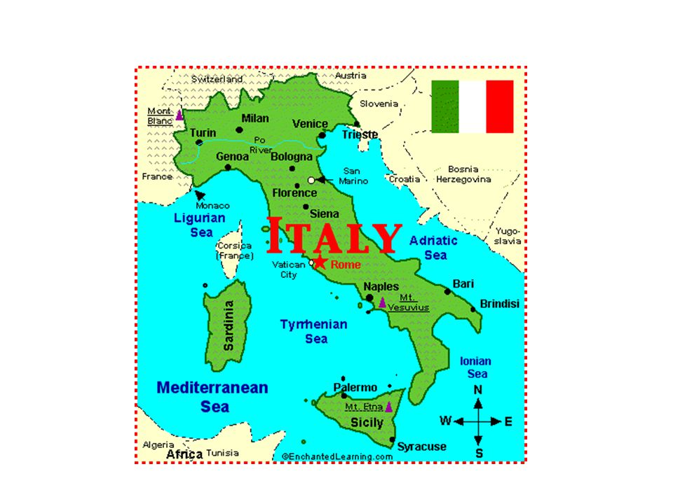 Unified Italy?.