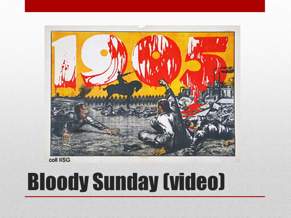 Bloody Sunday (video)