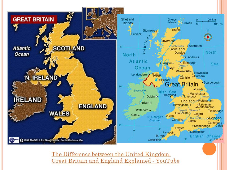 The Difference between the United Kingdom, Great Britain and England Explained - YouTube