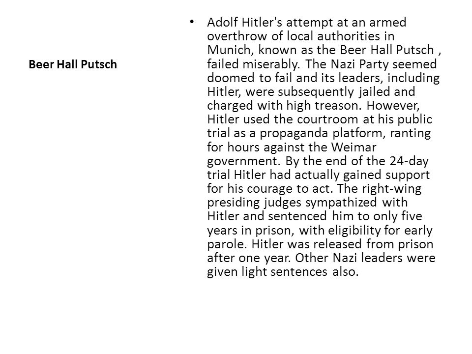 Mein Kamph & Nazi Growth While in prison, Hitler wrote volume one of Mein Kampf (My Struggle), which was published in 1925.