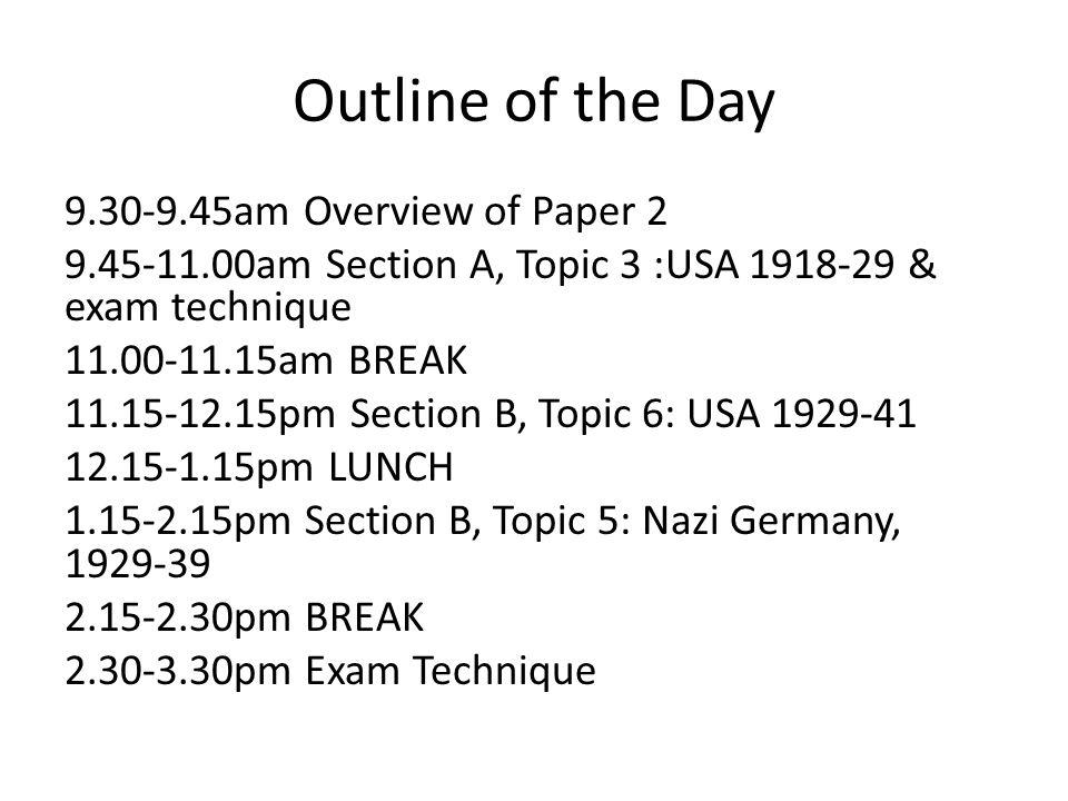 GCSE History: Paper 2