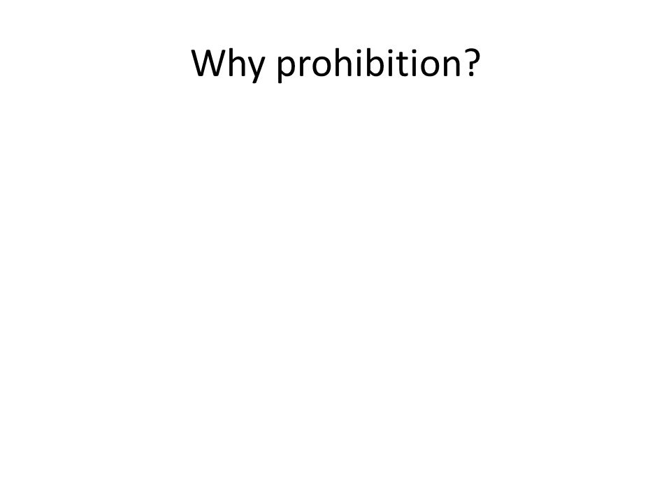 What was 'Prohibition'. A law called the Volstead Act introduced in the USA in January 1920.