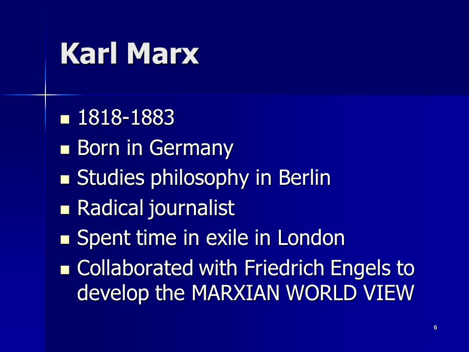 Any connections between Anarchism and Marxism? Marx says no. Marx says no. 17