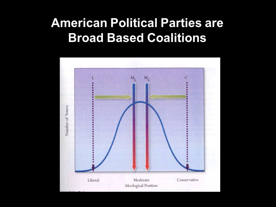 American Political Parties are Broad Based Coalitions