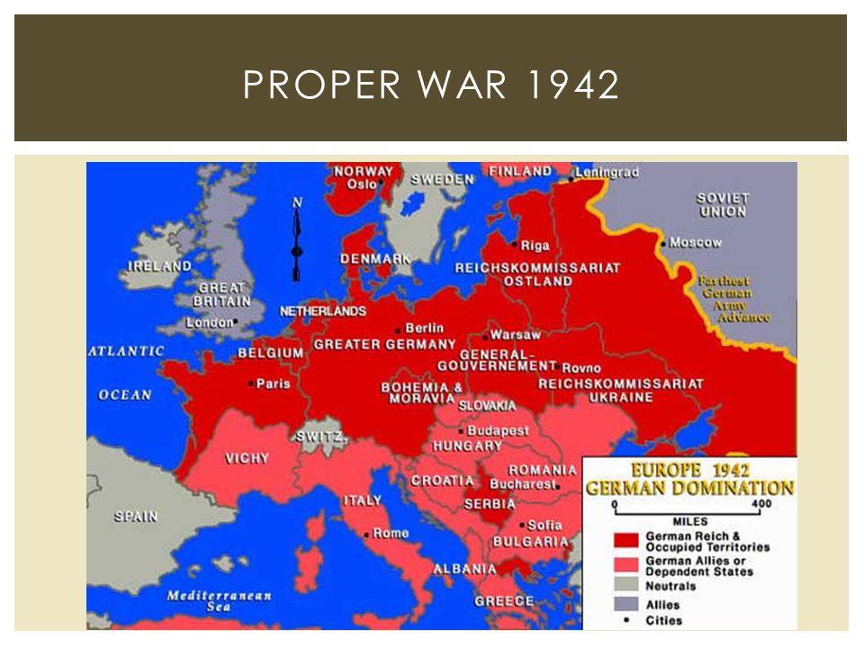 PROPER WAR 1942