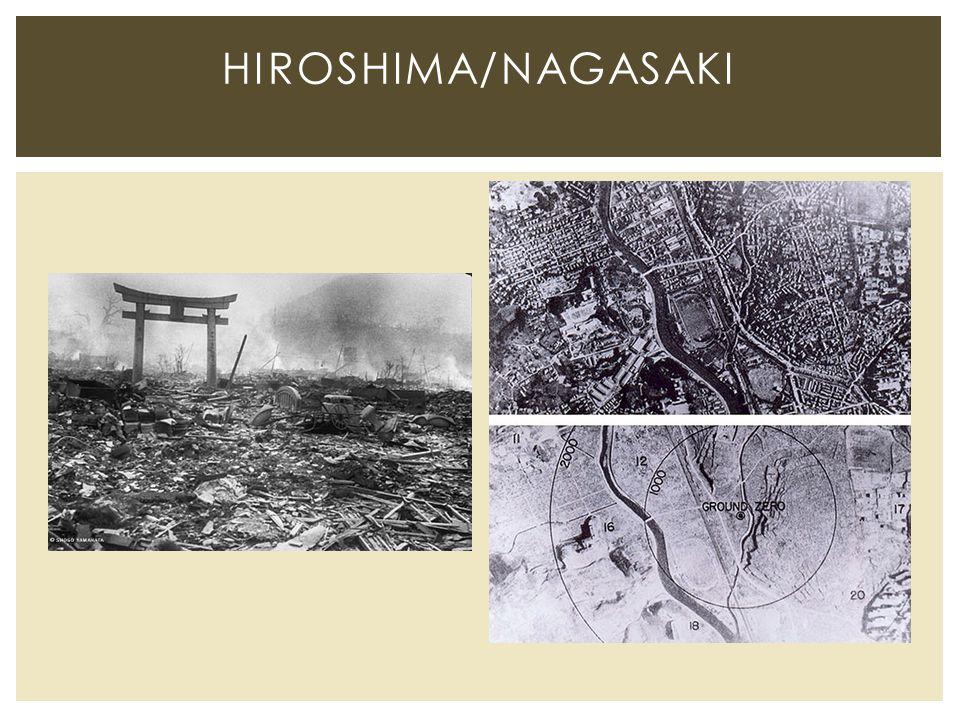HIROSHIMA/NAGASAKI