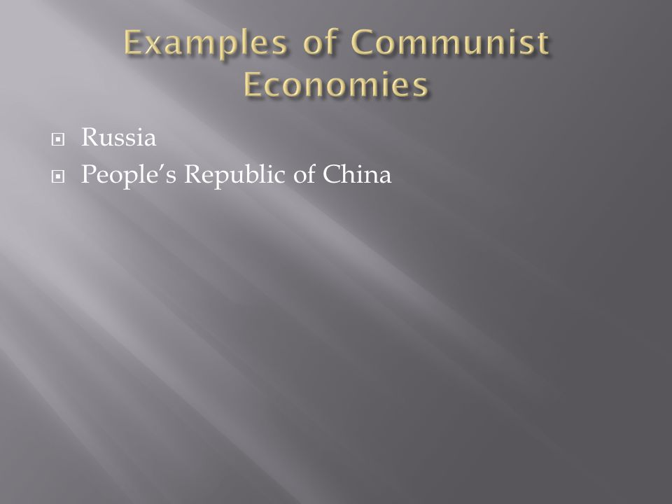  Russia  People's Republic of China