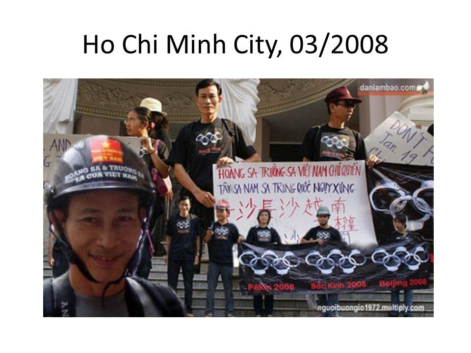 Ho Chi Minh City, 03/2008