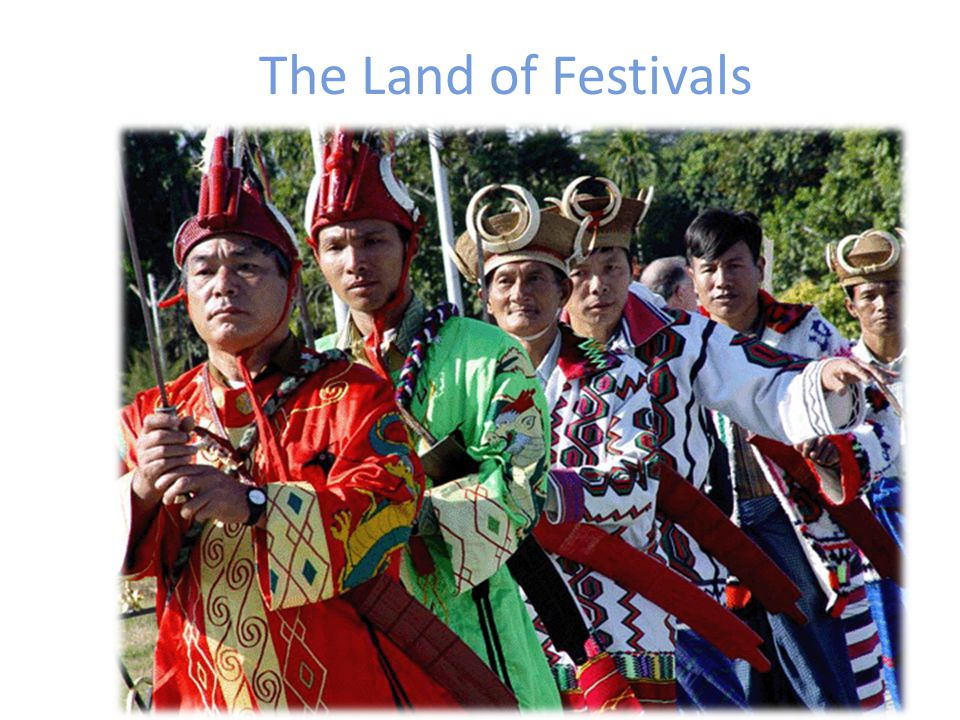 The Land of Festivals