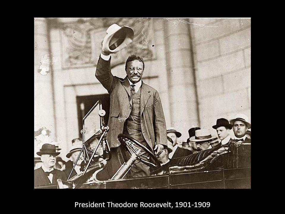 President Theodore Roosevelt, 1901-1909