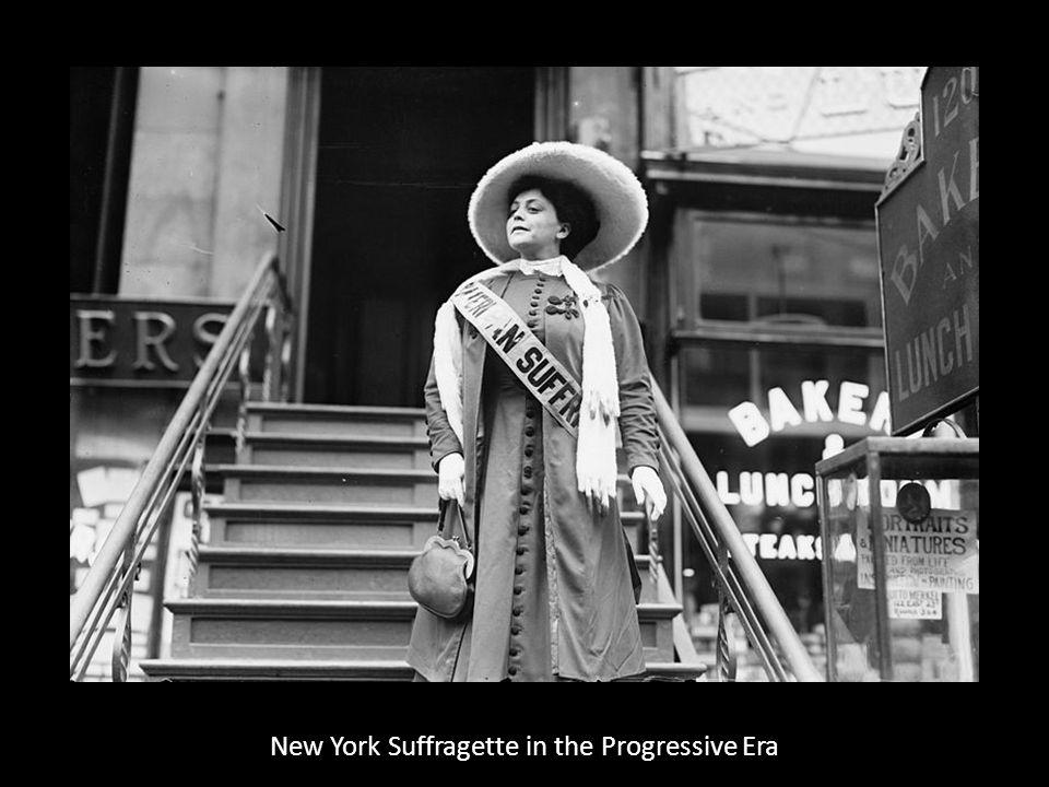 New York Suffragette in the Progressive Era