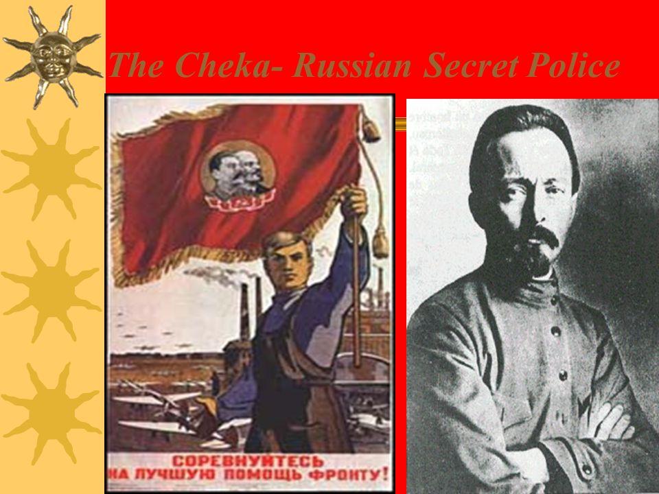 The Cheka- Russian Secret Police