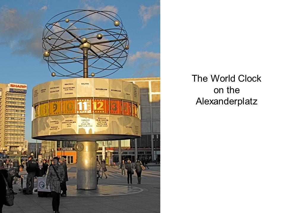 The World Clock on the Alexanderplatz