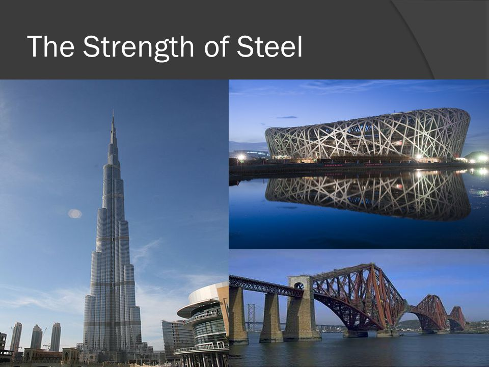 The Strength of Steel