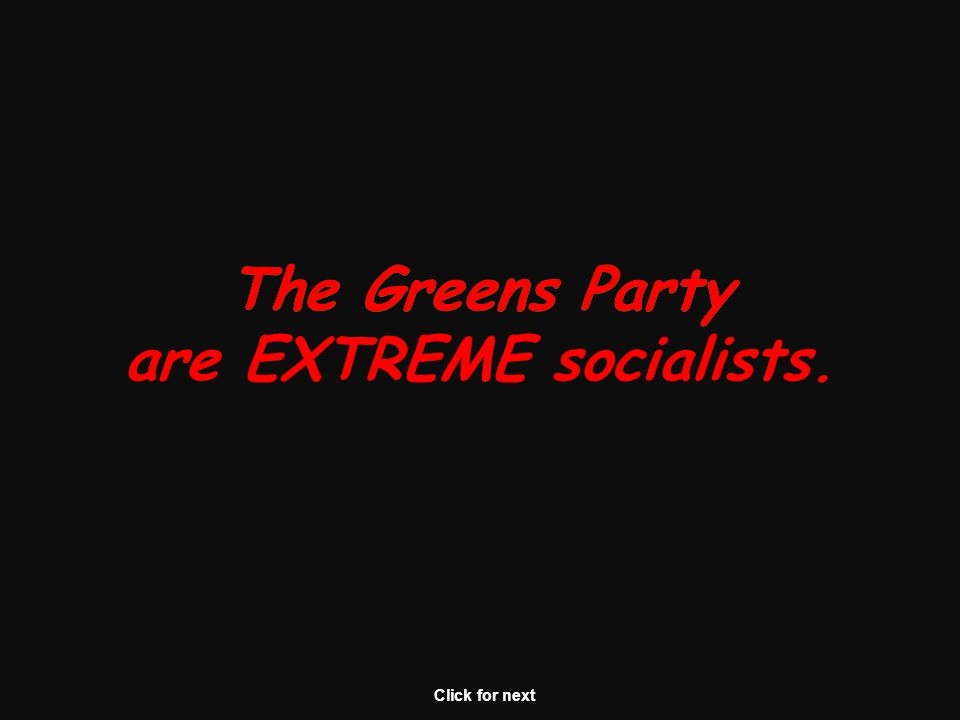 The Greens Party