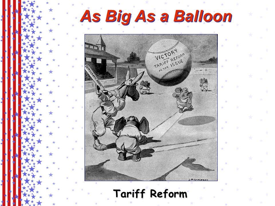 As Big As a Balloon Tariff Reform
