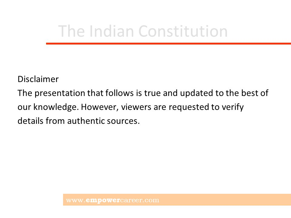 The Indian Constitution 12 Schedules: Schedule 1: State and UTs territories Schedule 2: Salaries of top officials Schedule 3: Oaths for Officials Schedule 4: Rajya Sabha seat allotment Schedule 5: Admin of Scheduled Areas Schedule 6: Admin of Tribal Areas www.