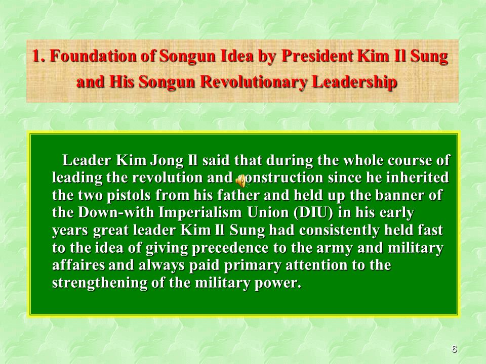 47 ◈ Defending the country, nation and socialism from the moves of the US and its followers to strangle the DPRK and socialism Vitality of the Songun Politics