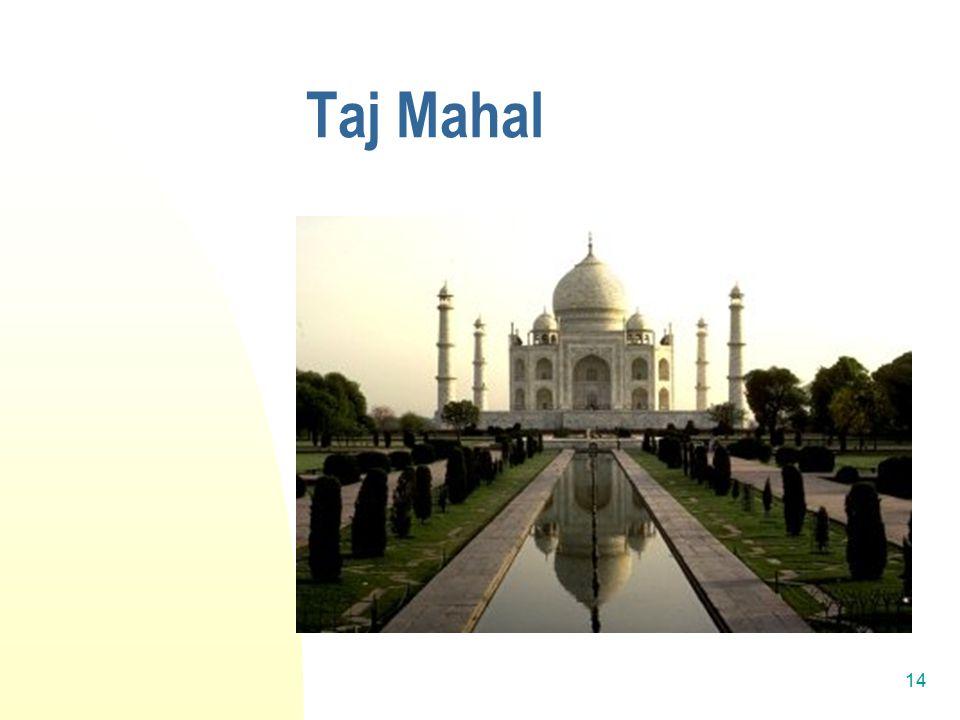 14 Taj Mahal