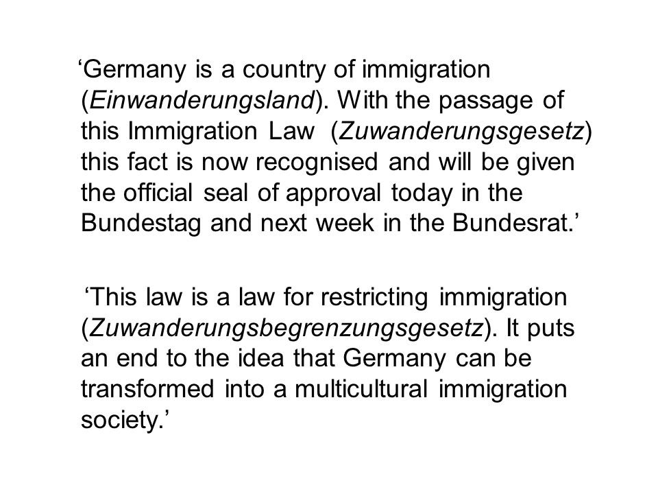 Courses obligatory for all new migrants and backdated to 1998.