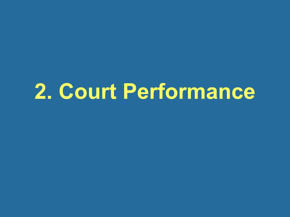 2. Court Performance