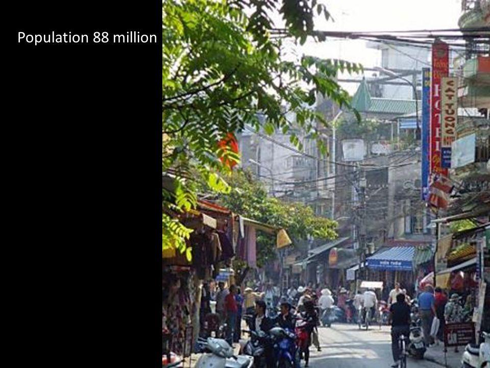 Population 88 million