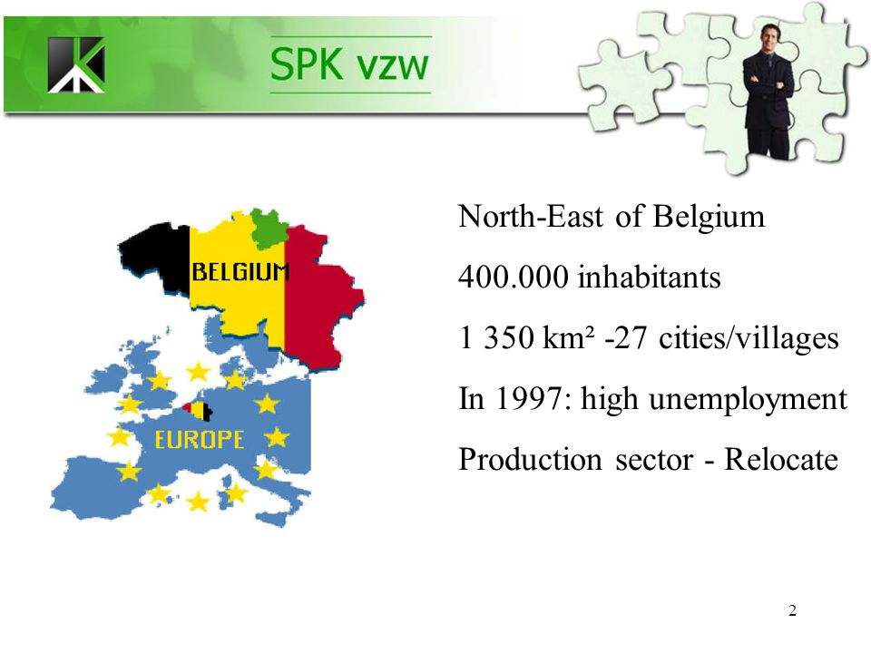 13 +1000 SME's active in Kempen +7000 SME's active in the Belgian PLATO™ network and + 12000 SME's active mainly within EU An international network 12 countries...