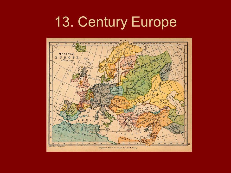 13. Century Europe