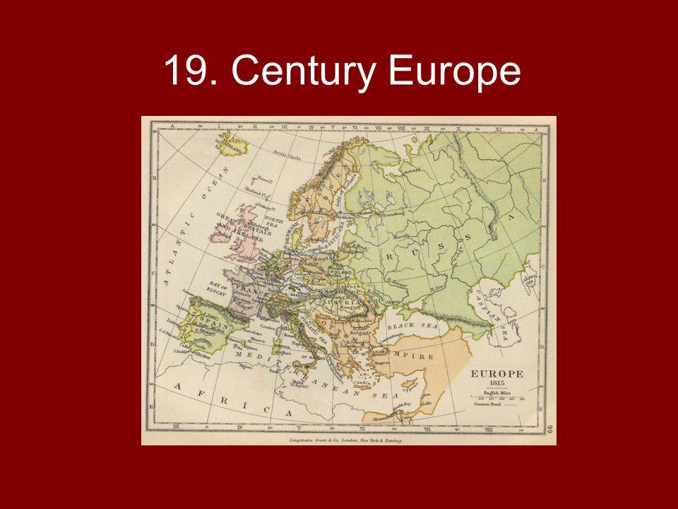 19. Century Europe