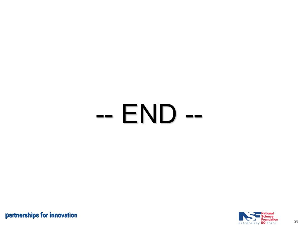 28 -- END --