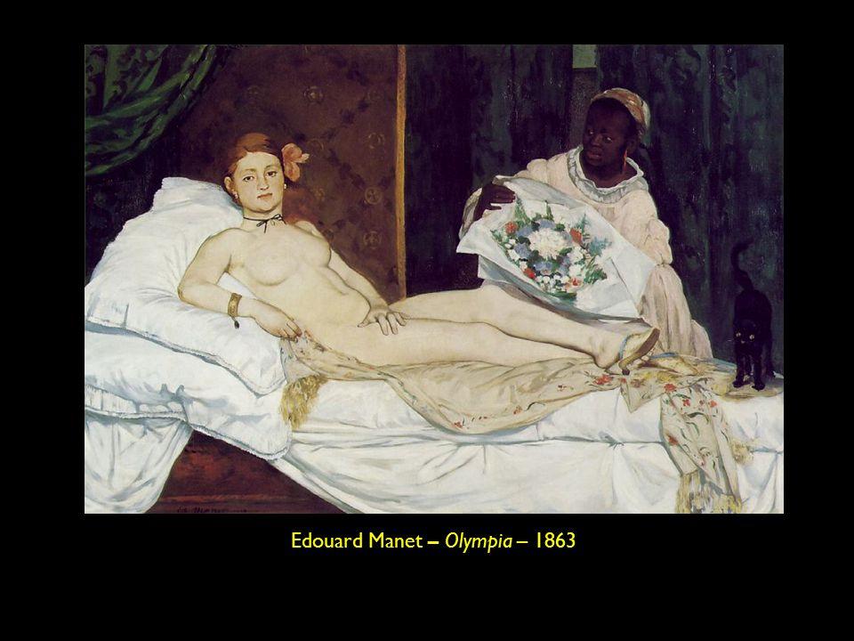 Edouard Manet – Olympia – 1863