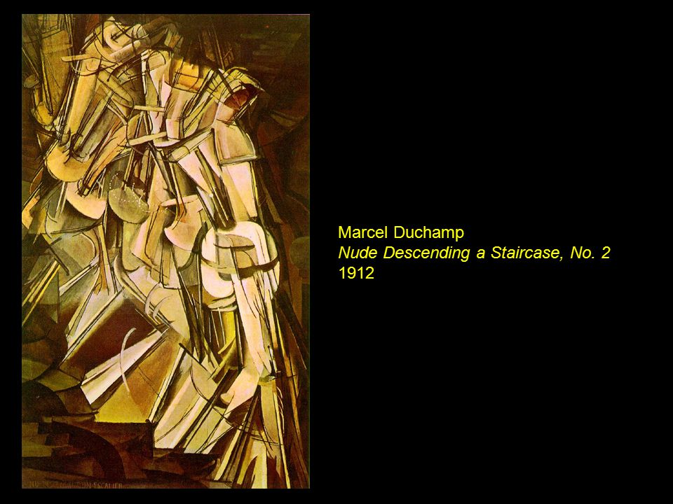 Marcel Duchamp Nude Descending a Staircase, No. 2 1912
