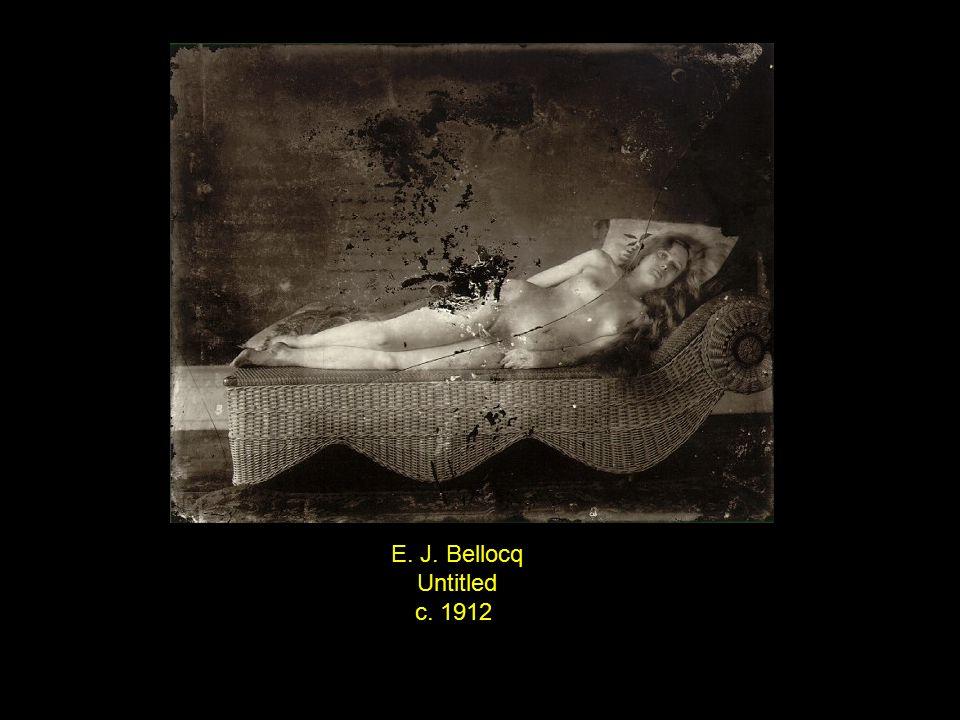 E. J. Bellocq Untitled c. 1912