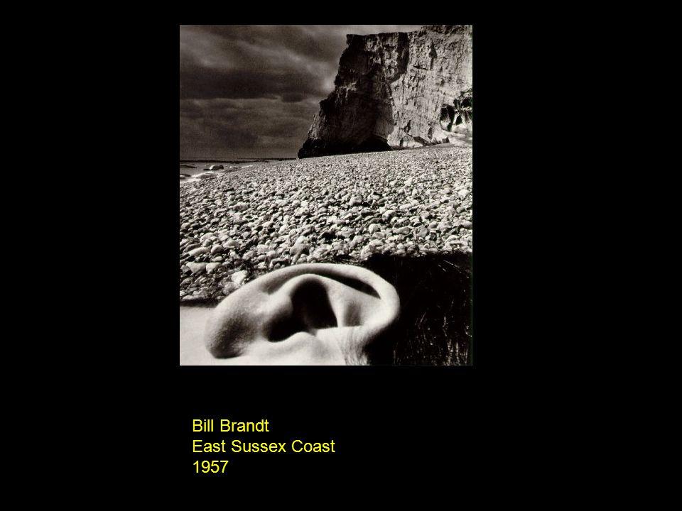 Bill Brandt East Sussex Coast 1957