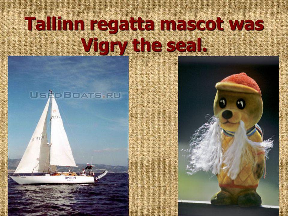 Tallinn regatta mascot was Vigry the seal.