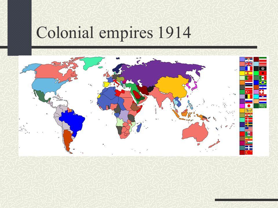 Colonial empires 1914