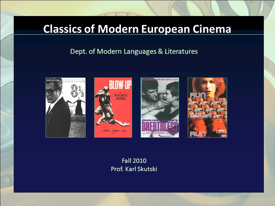 Click to edit Master title style n Click to edit Master text styles n Second level n Third level n Fourth level n Fifth level Classics of Modern Europ