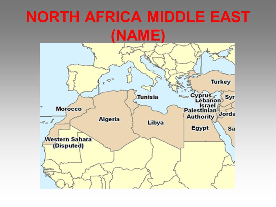 NORTH AFRICA MIDDLE EAST (NAME)