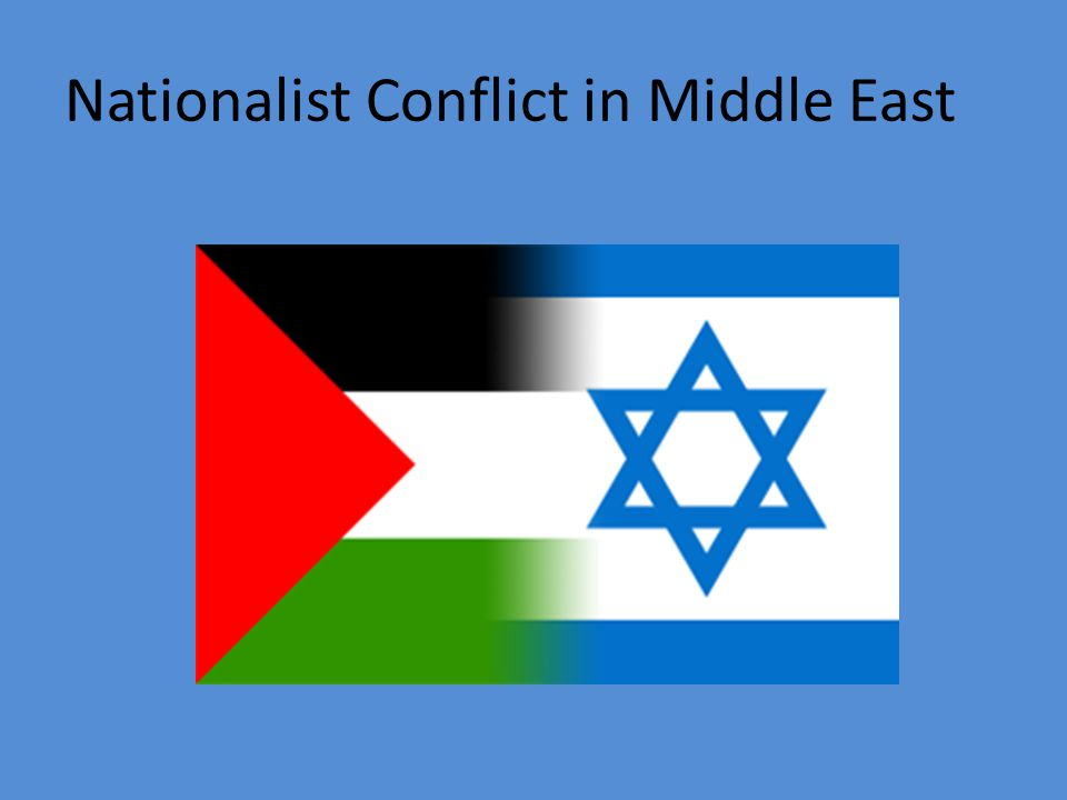 Nationalist Conflict in Middle East