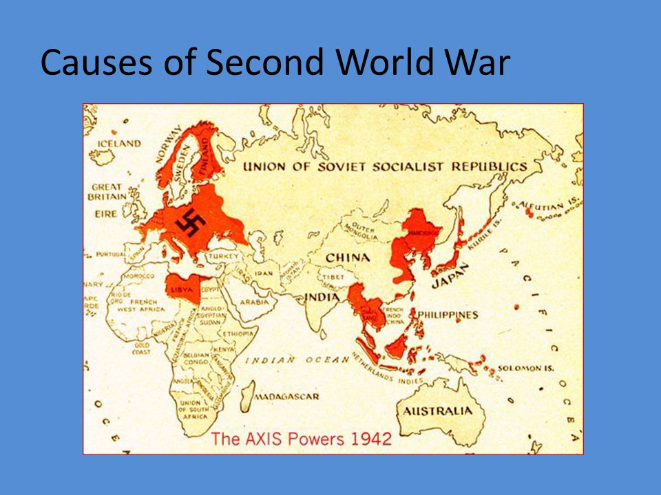 Causes of Second World War