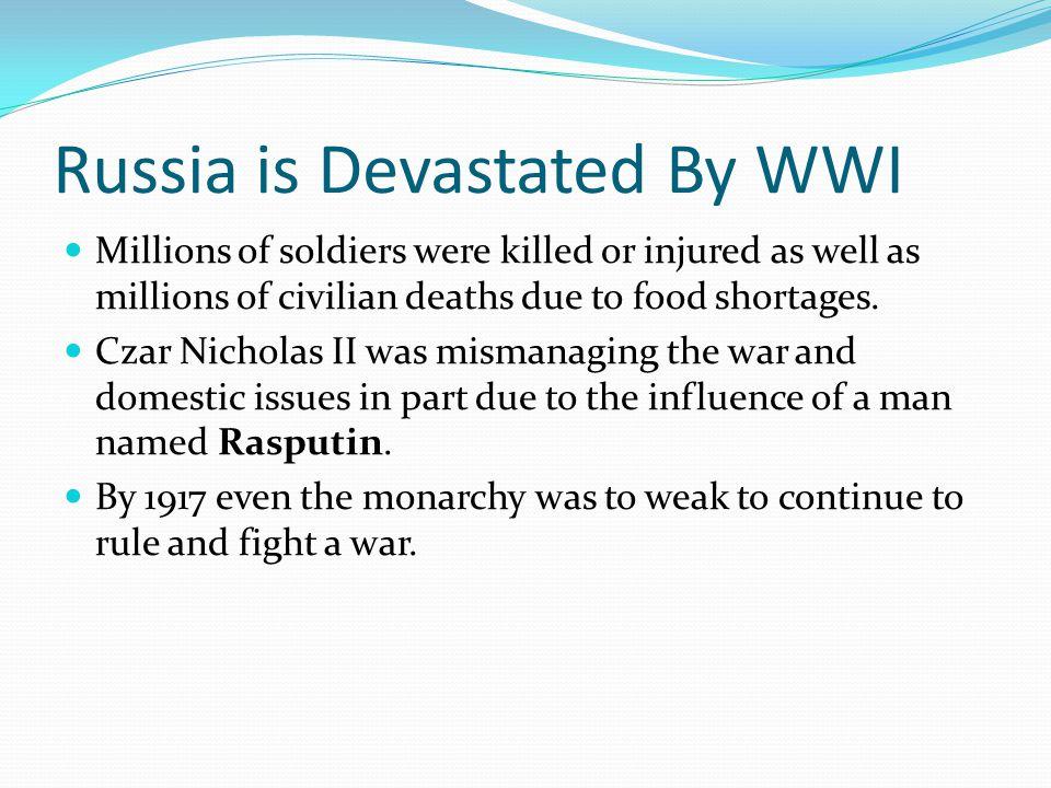 Russians Exit WWI Lenin's promise of Peace.Land.