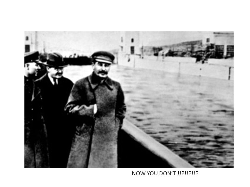 """He had photos changed…here, Nikolai Yezhov, chief of the Soviet secret police, is """"disappeared"""" by Stalin NOW YOU SEE HIM ……………."""