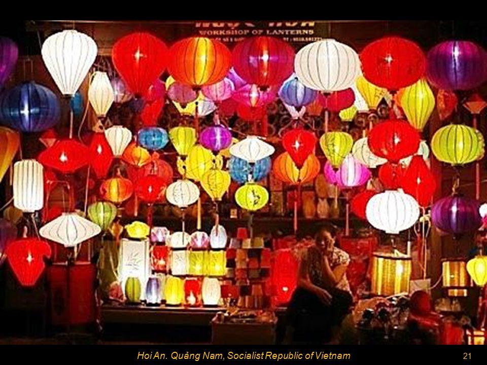 20 Hoi An. Quảng Nam, Socialist Republic of Vietnam