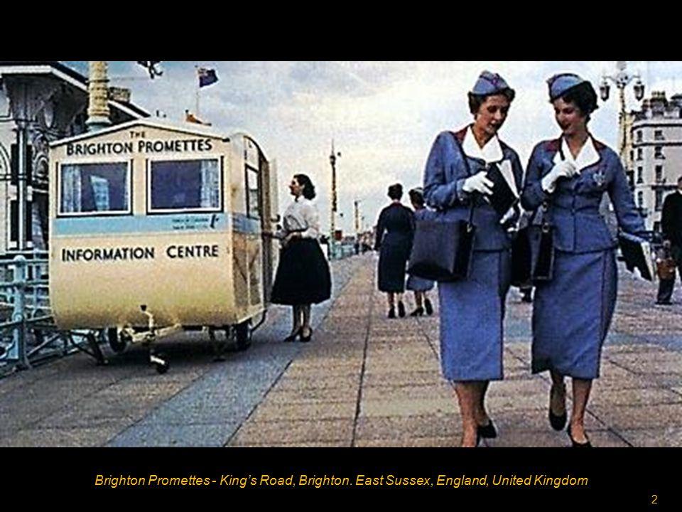 2 Brighton Promettes - King's Road, Brighton. East Sussex, England, United Kingdom