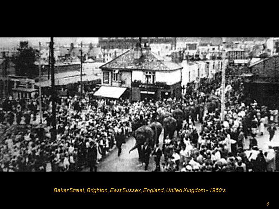 8 Baker Street, Brighton, East Sussex, England, United Kingdom - 1950's