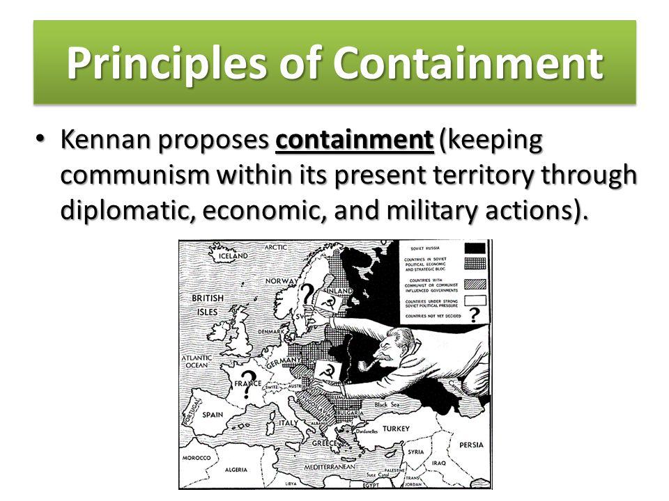 Principles of Containment Soviet behavior.Why?Soviet behavior.