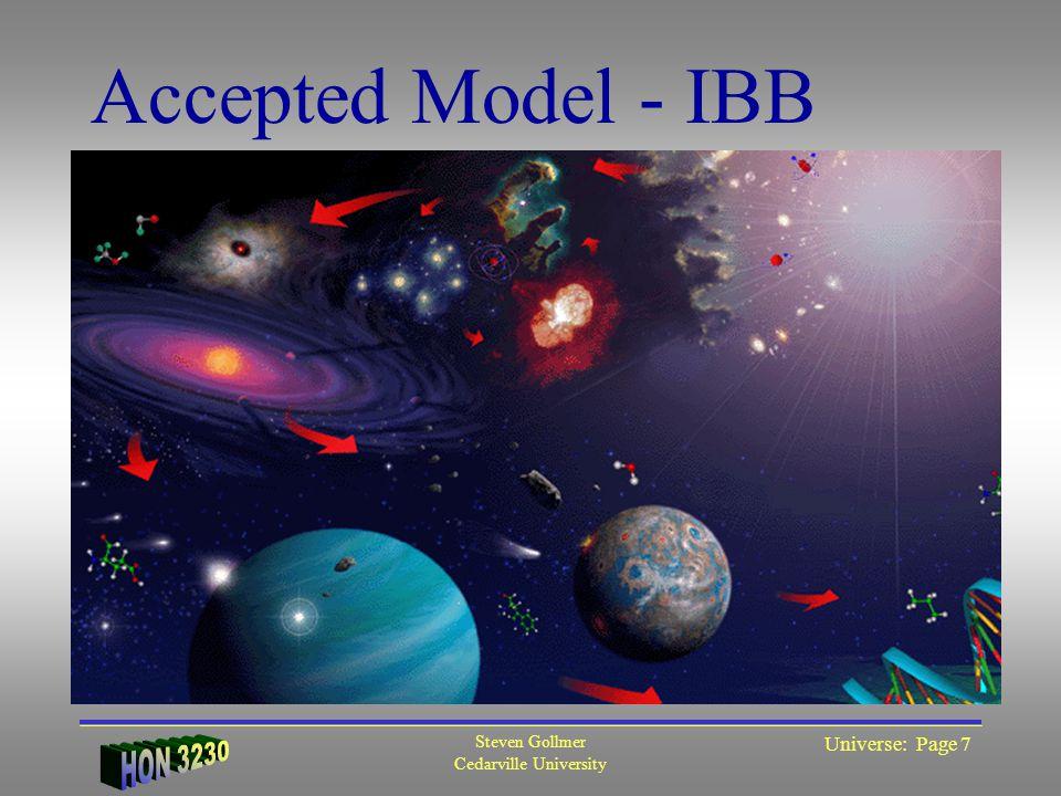 Steven Gollmer Cedarville University Universe: Page 8