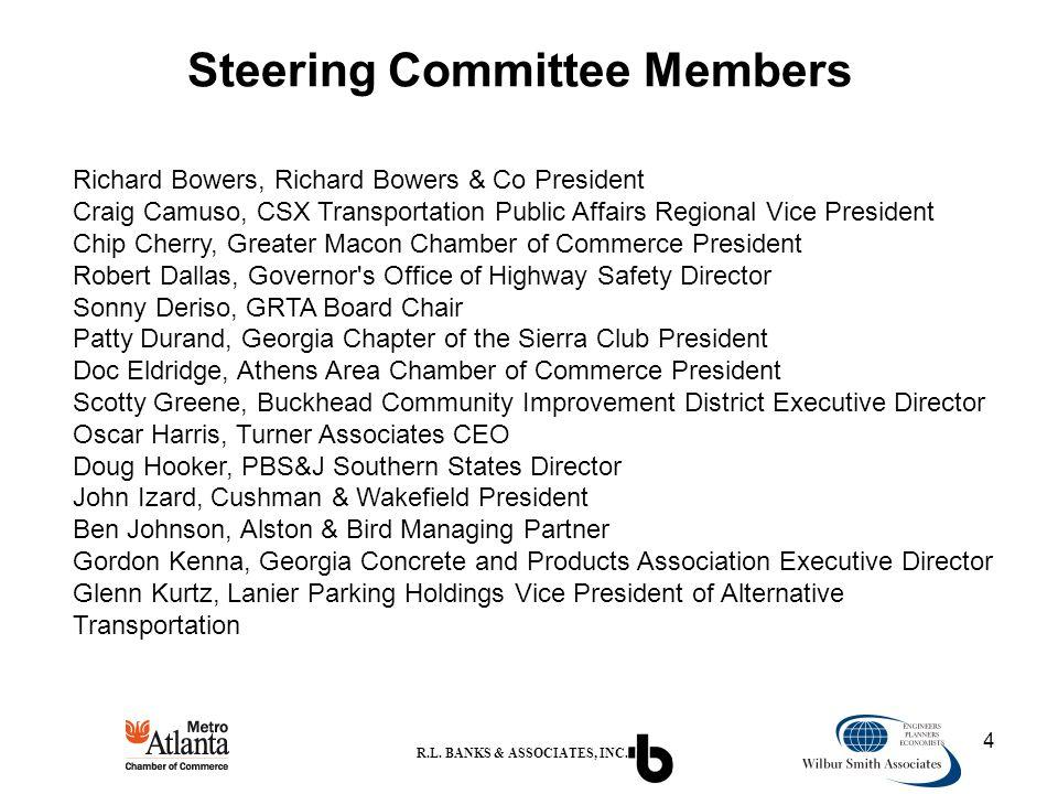 4 Steering Committee Members R.L.BANKS & ASSOCIATES, INC.
