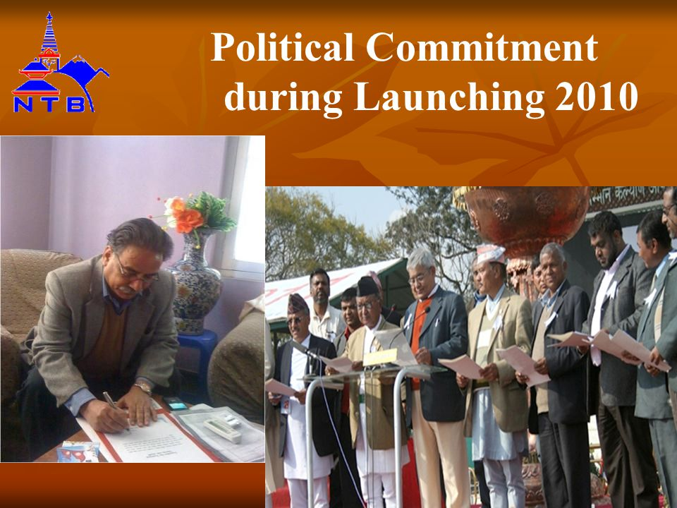 Political Commitment during Launching 2010