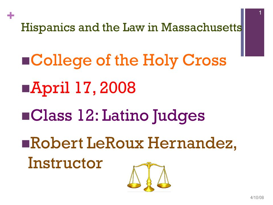 + Funneling Total Latino population High School Graduates College Graduates Law School Graduates Lawyers Judges Law Profs: Correction 4/10/08 2